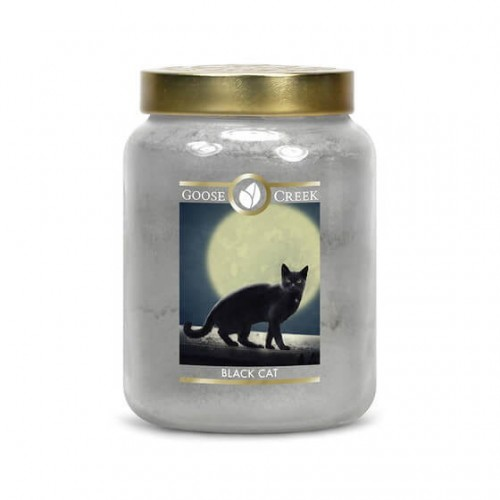 Goose Creek Candle Black Cat świeca zapachowa Halloween