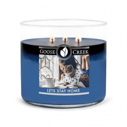 Goose Creek Candle Let's Stay Home Świeca Tumbler Trzyknotowa