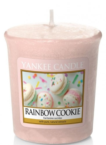 Rainbow Cookie Yankee candle sampler votive