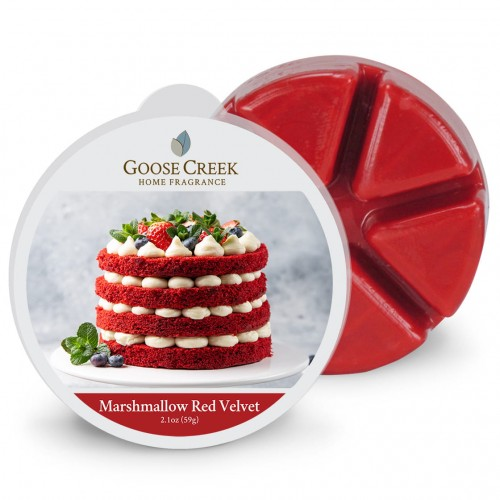 Goose Creek Candle Marshmallow Red Velvet Wosk Zapachowy