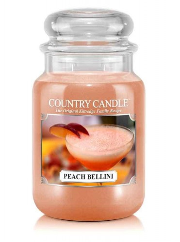 Country Candle PEACH BELLINI duża świeca