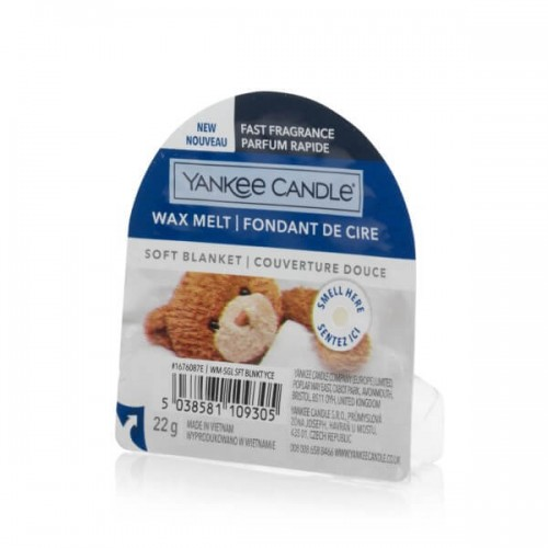 Yankee Candle Soft Blanket wosk zapachowy