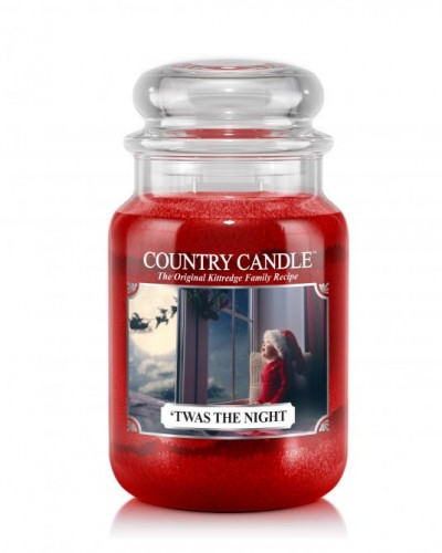 Country Candle T'was the night świeca duża